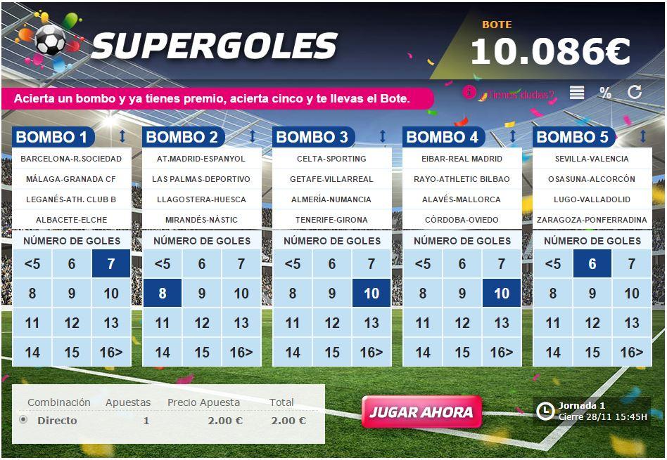 Supergoles